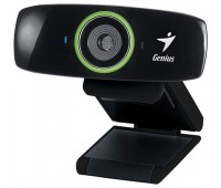 Web-камера Genius Facecam 2020, HD, for LCD, CMOS 2M, mic stereo, glass lens, fixed focus, 1.5m cab