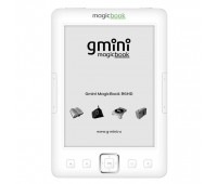 "Электронная книга Gmini MagicBook Z6 White, экран 6"", 4Gb, Чехол"