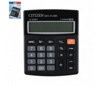 Калькулятор Citizen (12 разр) SDC812BN 124*102*25мм черн